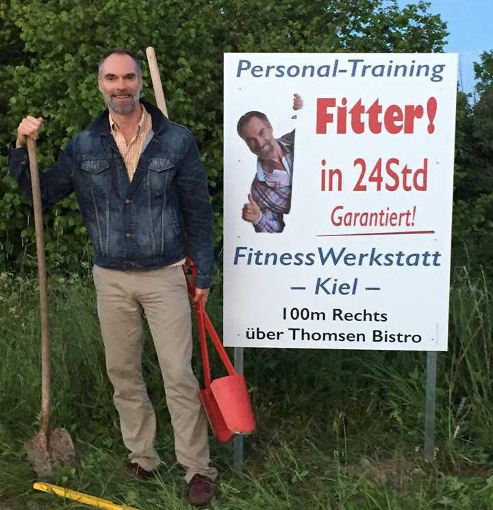 Frank Funk, Fitter in 24 Stunden